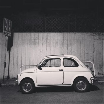 Old Fiat 500 car - Kostenloses image #331715