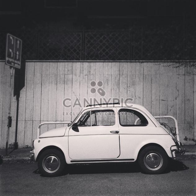 Old Fiat 500 car - Free image #331715