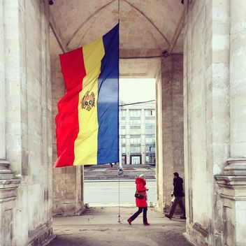 Victory Arch in National Assembly Square, Chisinau - image gratuit #332065