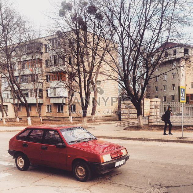 Vieille Lada rouge - image gratuit(e) #332095