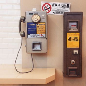 Old public phone - Free image #332255