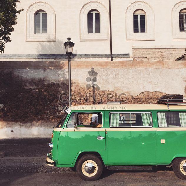 Alten grünen VW-Van - Kostenloses image #332355