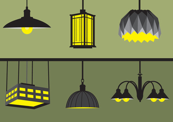 Hanging Lights - Free vector #332675