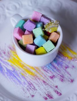 Colorful Refined Sugar - image gratuit #332815