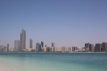 Abu Dabi seaside - image gratuit(e) #332875
