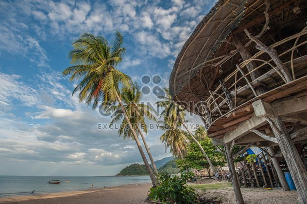 Wooden hut on a beach - Free image #332965