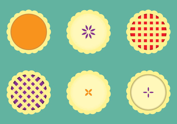 Free Apple Pie Vector Illustration - vector gratuit #333325