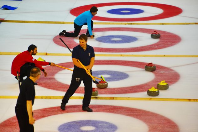 curling sport tournament - image gratuit(e) #333575