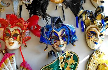 Masks on carnival - Free image #333655