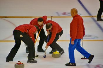 curling sport tournament - image gratuit #333785