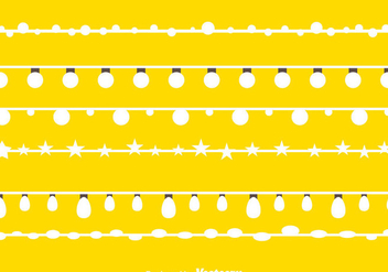 White String Lights - Free vector #333815