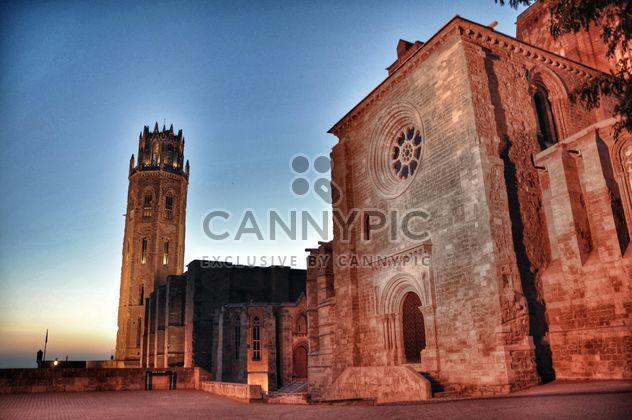 Spanische Burg bei Sonnenuntergang - Kostenloses image #334185