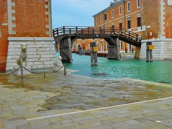 Venice rainy streets - Kostenloses image #334985