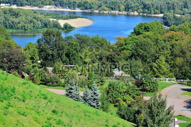 The views of the Dnipro and left shore of Kiev - image #335065 gratis