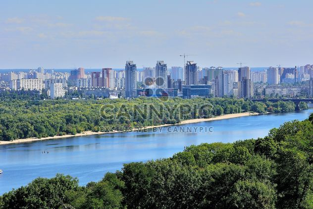 The views of the Dnipro and left shore of Kiev - image gratuit #335075