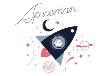 Free Spaceman Vector - Free vector #337015