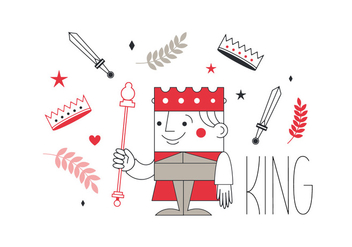 Free King Vector - Free vector #337025