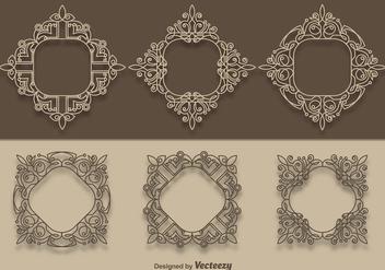 Vector Scrollwork Collection - Kostenloses vector #337155