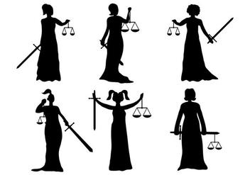 Lady Justice Vector - Kostenloses vector #337285