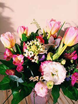 Bouquet of flowers closeup - image gratuit(e) #337915