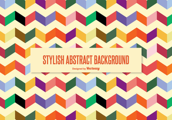 Stylish Abstract Background - Free vector #338095