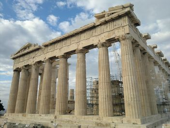 Parthenon at Acropolis hill - image #338245 gratis