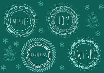 Free Christmas Background Illustration - Free vector #338415