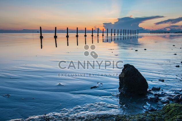 Amazing sea at sunrise - Free image #338575