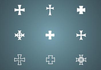Free Crosses Vector - Kostenloses vector #338635
