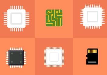 Microchip Vectors - Kostenloses vector #338675