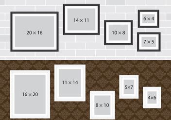 Photo Collage Walls - Free vector #338775