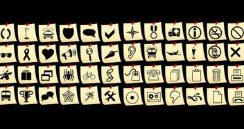 Icon set - Kostenloses vector #339025