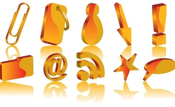Web icons - vector #339035 gratis
