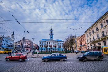 Architecture and transport of Chernivtsi - Kostenloses image #339135