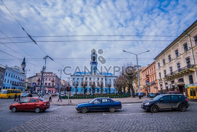 Architecture and transport of Chernivtsi - Free image #339135