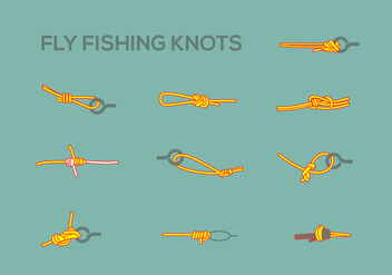 Fly Fishing Pack 1 - Free vector #339315