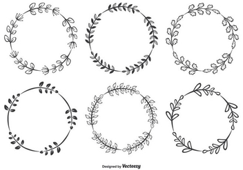 Decorative Frames Set - Free vector #339425