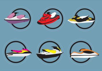 Jet Ski Vectors - бесплатный vector #339455