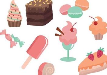 Free Bakery & Dessert Vectors - vector gratuit #339475