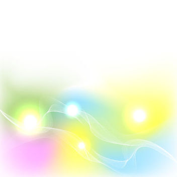 Colorful Abstract Spring Background - Free vector #339695