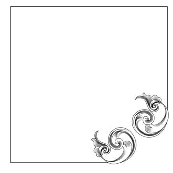Vector Corner Decoration - Free vector #339795