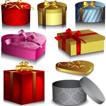 Vector Gift Box - Kostenloses vector #340155