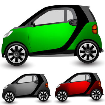 Small Vector Car - vector #340175 gratis