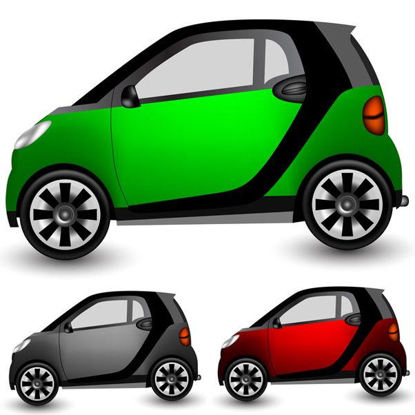 Small Vector Car - Free vector #340175