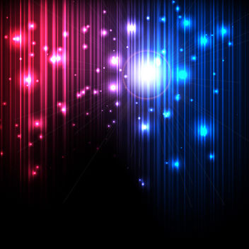Magic Lights - vector gratuit #340245