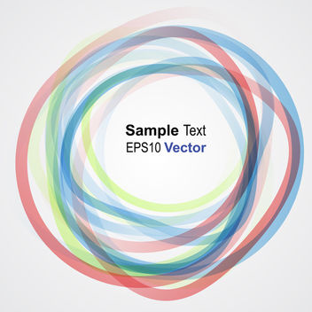 Vector Rings - vector #340275 gratis