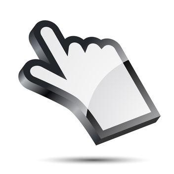Hand Cursor Icon - Free vector #340365