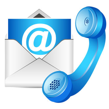 Contact Us Icon - vector #340385 gratis
