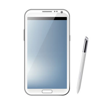 Galaxy Note 2 - vector #340675 gratis