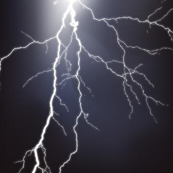 Lightning - Free vector #340685